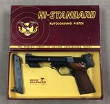 High Standard Supermatic Trophy Military .22lr in the box!