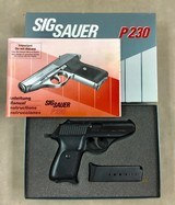 Sig Model P230 .380 app Pistol - Excellent -