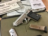 Walther PPK .380 Stainless - latest version by S&W - perfect!