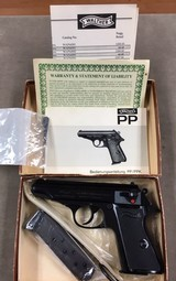 Walther Model PP .380 In Original Box - perfect -