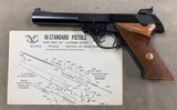 Hi Standard 103 Supermatic Citation .22lr - perfect -