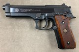 Taurus PT92 9mm Pistol, Blued - excellent -