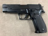 Sig P226 9mm German Manufacture - excellent - - 1 of 7