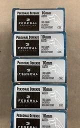 Federal 10mm 180 Grain JHP Personal Defense