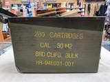 GI .30-06 M2 Ball (Lake City) on Garand Clips - 280 Rds/Can - 1 of 2