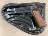 Browning Hi Power 9mm Pistol circa 1972 - excellent -