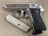 WALTHER PPK/S .380 Stainless by Interarms - 98%