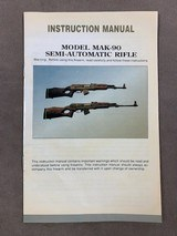 Cinese Vintage Mak-90 Rifle Manual