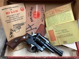 Ruger Security Six .357 Revolver - mint -