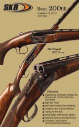 SKB Model 200HR Left Handed Guns - NIB -