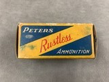 Peters .32 Winchester (.32-20) High Velocity 60 Gr Open Point Expanding - full box - scarce - - 3 of 6