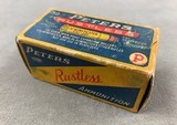 Peters .32 Winchester (.32-20) High Velocity 60 Gr Open Point Expanding - full box - scarce -