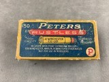 Peters .32 Winchester (.32-20) High Velocity 60 Gr Open Point Expanding - full box - scarce - - 2 of 6