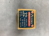 Peters .32 Winchester (.32-20) High Velocity 60 Gr Open Point Expanding - full box - scarce - - 4 of 6