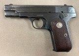Colt Mod 1903 .32acp Caliber circa 1932