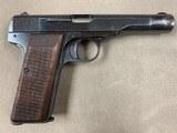 FN Model 1922 .32acp Pistol Nazi WWII Vintage - 2 of 7
