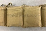 Remington .30-40 Krag Bandoleer of Ammo dated 1918 - complete - - 2 of 5