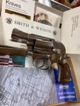 Smith & Wesson Model 38 Airweight Bodyguard Nickel - ANIB -