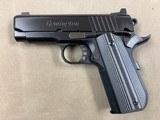 remington model r1 ultralight executive .45 acpminty