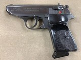 Walther PPK/S .22lr Interarms Made In West Germany - excellent -