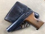 Mauser WWII Model HSC 7.65 Pistol w/ Holster - excellent -