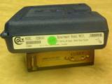 NIBColt 1991A1 Govt Model MK IV38 SuperMatte Blue Finish - 1 of 4