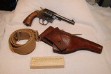 Colt 1909 Army Double Action Revolver in .45 Colt with accessories