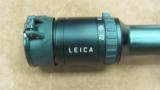 Leica ERi 3-12x50 Scope with Butler Creek lens covers.- 7 of 13