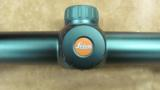 Leica ERi 3-12x50 Scope with Butler Creek lens covers.- 2 of 13