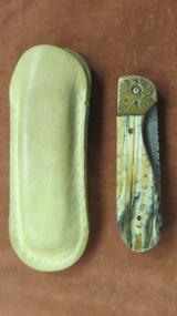 Damascus Folding Pocket Knife by Rodney Sheldon - 11 of 11