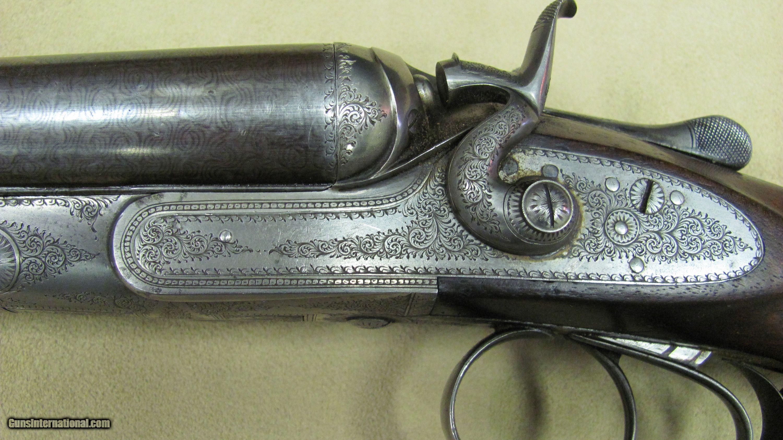 W. Cashmore - Best Quality 12 Gauge Hammer Double Barrel Shotgun
