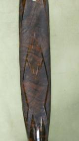 Custom engraved and gold inlays on Winchester Model 12 Pigeon Grade 12 Gauge - 12 of 20