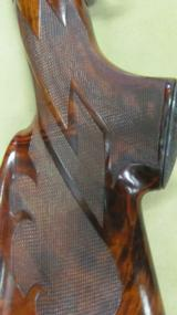 Custom engraved and gold inlays on Winchester Model 12 Pigeon Grade 12 Gauge - 14 of 20