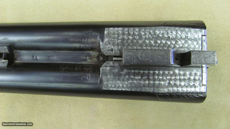 12 J.Saive Armes Boxlock Ejector Double Barrel Shotgun ...