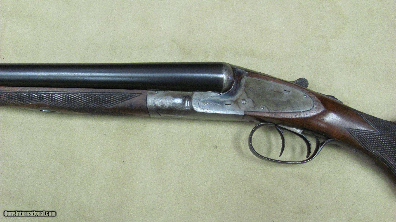 LC Smith 12 Gauge Double Barrel Shotgun with Auto Ejectors All Original