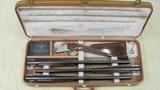 Browning Diana Grade Superposed Superlight 12 Gauge 3 Barrel Cased Set