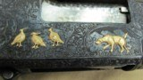 Winchester Model 12 Pigeon Grade Heavily Engraved and 13 Gold Inlays - 20 of 20