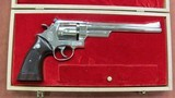 """S&W Model 27-2 Nickel Finish, 8 3/8"""" Barrel, Presentation Case with All Tools"""