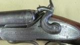 Mortimer Engraved Double Barrel Hammer Shotgun 12 Gauge (Scotland) - 6 of 20