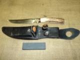 Randall model 3 Hunter fixed blade knife - 5 of 11