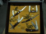 Remington Knives in original unused store display case - 1 of 10