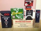Winchester, Remington, Federal, CCI and CCI MINI-MAG - 1 of 1
