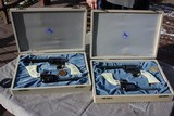 2 Colt Nevada Centennials in presentation boxes .22 Scout and 5 1/2 inbl