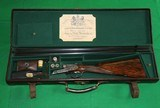 WOODWARD 1898 12 BORE BEST QUALITY HAMMERLESS EJECTOR SxS GAME GUN IN EXCELLENT CONDITION