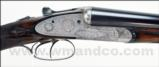 W.J. Jeffery & Co. 12 Gauge Best Grade Sidelock Ejector.