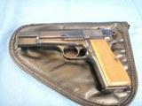 "Browning ""T"" series Hi-Power Pistol 1966 - 1 of 10"