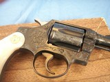 Colt Detective Special Engraved by John Adams jr. with Real MOP grips. High Quality piece. - 6 of 15
