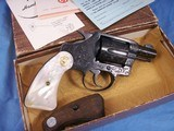 Colt Detective Special Engraved by John Adams jr. with Real MOP grips. High Quality piece. - 3 of 15