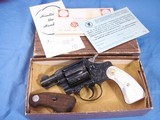 Colt Detective Special Engraved by John Adams jr. with Real MOP grips. High Quality piece. - 1 of 15