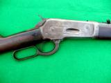 WINCHESTER 1886 extra light TD .33 Win Indian gunVERY rare configuration! - 1 of 10
